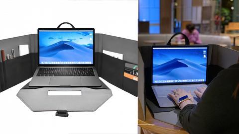【網購優惠】Specter Workspace多功能電腦袋優惠 一秒變出獨立工作間/實用收納間隔/可調式支架