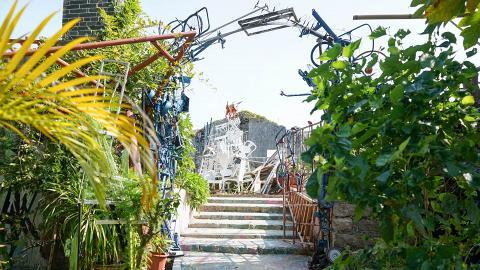 【坪洲好去處】坪洲三級古蹟活化為秘密花園!牛皮廠變身藝術空間/特色影相位/環保材料製造