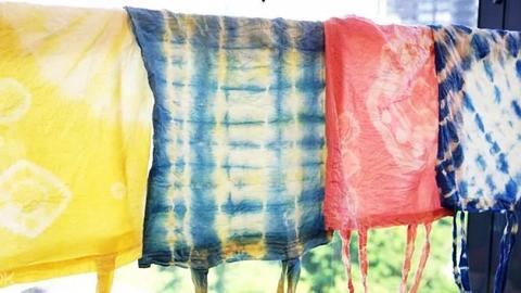 【中環好去處】中環「食材再生染色」DIY工作坊 用剩食材變環保染料自製天然染Tee/旗袍/圍巾