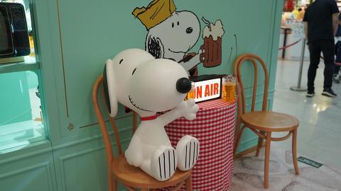 【銅鑼灣新店】Snoopy 70週年期間限定店登陸銅鑼灣 1.2米高爆炸頭Snoopy/公仔/結他/文具