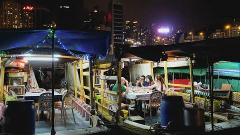 香港傳統舢舨船遊覽體驗優惠!船上嘆海鮮大餐 即煮避風塘炒蟹/豉椒炒蜆/蒜茸蒸聖子
