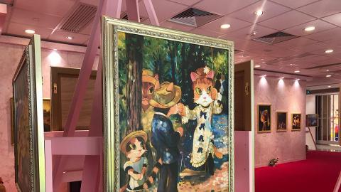 【聖誕好去處2020】《貓.美術館》展覽首次登陸香港北角匯!61幅世界貓咪名畫/立體喵星球裝置