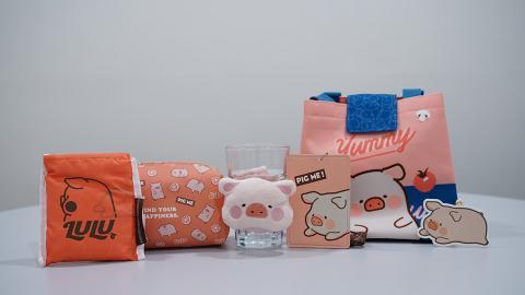 罐頭LULU豬精品登陸7-Eleven便利店 杯套/飯袋/卡套/化妝袋