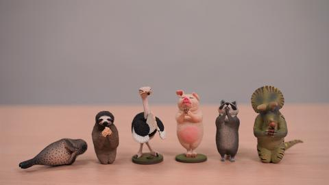 7-Eleven便利店新推Animal Life鳥居祈祈禱動物 超得意豬/樹懶/鴕鳥/猩猩