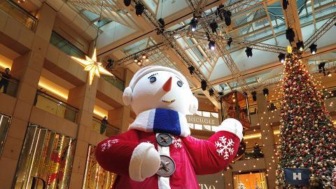 【聖誕好去處2020】聖誕小鎮市集登陸中環置地廣場!巨型夢幻雪人/北極小熊影相位/光影表演
