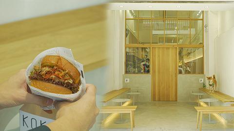【深水埗美食】深水埗日式簡約咖啡店 設寵物休憩空間!蟹肉滑蛋厚吐司/豆腐抹茶Latte