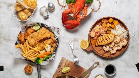 【銅鑼灣美食】Red Lobster推2大飲食優惠 指定菜式買一送一/外賣75折