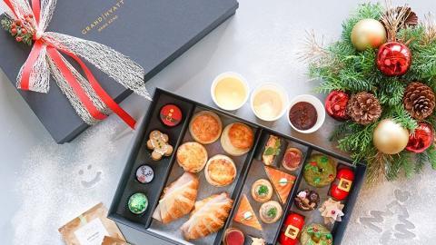 【聖誕外賣】6大聖誕下午茶外賣優惠8折起 Hotel ICON/君悅/四季/港麗/DK Cuppa Tea