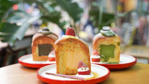 【大圍美食】大圍人氣吐司店全新期間限定甜品 焦糖雞蛋/宇治抹茶/布丁吐司登場!