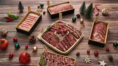 全新肉類食材專門店DSPARK推出節日限定肉類禮盒 歎勻黑安格斯牛仔骨/極上牛肉金三角/豬腩片