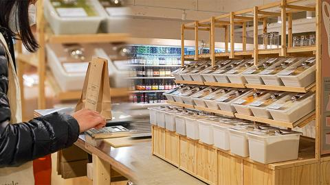 【沙田好去處】4000呎環保雜貨店Slowood進駐沙田 全港最大分店!走塑裸買食材區/天然環保用品