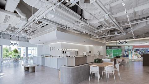 【將軍澳美食】 NOC Coffee分店首次進駐新界區!將軍澳新開4000呎落地大玻璃純白Cafe+烘焙工房