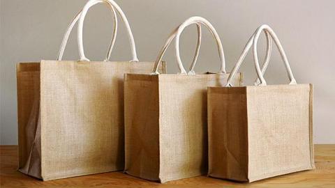 MUJI人氣日系簡約麻質手挽袋香港有售 百搭易襯價錢親民!3種尺寸$15起