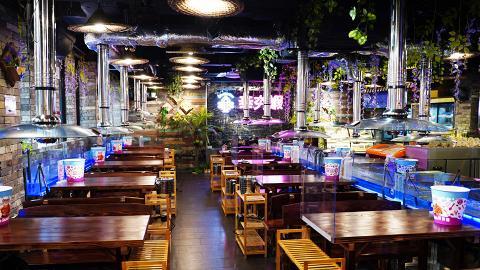 【荃灣美食】全新6000呎泰式流水蝦放題進駐荃灣 7折新張優惠!2.5小時任食流水蝦+30款燒烤食物