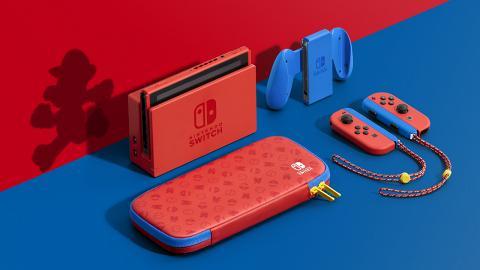 【Switch】瑪利歐紅藍版Nintendo Switch主機2月登場!售價+預訂/開售日期