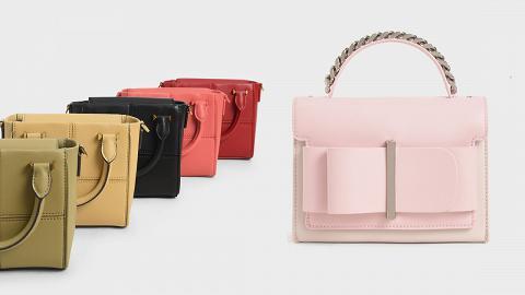 【網購優惠】CHARLES & KEITH香港官網2021年全新系列服飾手袋登場!$600以內新款手袋精選推介