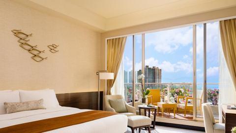 【酒店優惠2021】香港黃金海岸酒店限時激減21折!海景房連露台/包雙人早餐+中菜廳點心/下午茶