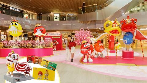 新春好去處! M&M's® 80週年@東薈城名店倉  利是「豆」來  賀年打卡新春遊樂園