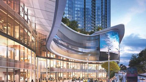 港島南區5層高新商場THE SOUTHSIDE 51萬呎港鐵站上蓋商場2023年開幕