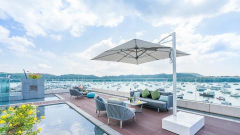 【酒店優惠2021】西貢The Pier Hotel最新度假住宿優惠49折!入住豪華露台房連早餐人均$522起
