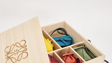 【名牌手袋】LOEWE最新手袋Box Set曝光 一盒集齊5大迷你經典手袋