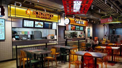 【旺角美食】旺角T.O.P商場全新掃街新場「Food Yum」  集齊6大餐廳!食勻酸辣粉/炸雞/大阪燒
