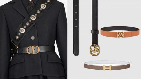 【名牌皮帶】10款人氣百搭名牌皮帶推薦 千元入門價買Gucci/Dior/Hermes