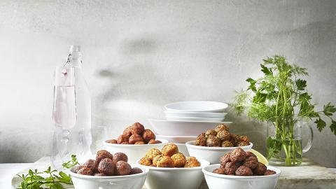 IKEA人氣食品瑞典肉丸限定85折優惠 任選五款口味!雞肉丸/素菜丸/三文魚鱈魚丸低至$41