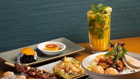 【銅鑼灣美食】銅鑼灣越南餐廳安南套餐買一送一優惠 歎炭燒大頭蝦/串燒/牛肉河