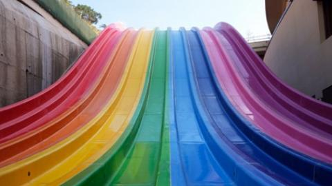 【海洋公園】最新水上樂園最快今個夏天開幕!設27大景點/八彩天梯/急流漩渦