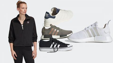 【網購優惠】adidas香港官網快閃優惠!超過800款運動鞋/服飾低至4折再買一送一