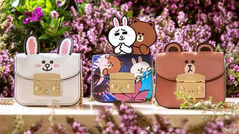 【名牌手袋】Furla X LINE FRIENDS聯乘系列登場 Brown+Cony手袋/銀包率先睇