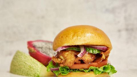 【大角咀美食】大角咀創意漢堡店醬堡4月限時飲食優惠 指定漢堡買1送1/$18無限加購小食