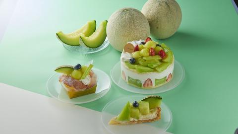日本直送蛋糕甜品店Chateraise最新日本青肉蜜瓜系列! 蜜瓜撻/蜜瓜鮮忌廉蛋糕/蜜瓜千層蛋糕