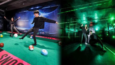 【荔枝角好去處】荔枝角室內遊樂區The Battlefield開幕!巨型桌球/泡泡足球/組隊打wargame