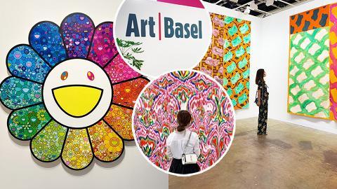 【灣仔好去處】香港Art Basel一連3日會展舉行!率先睇104間藝廊/村上隆/奈良美智/無限鏡世界