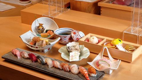 【尖沙咀美食】尖沙咀期間限定Omakase第二位半價優惠!低至$744起歎勻10件壽司/刺身/生蠔