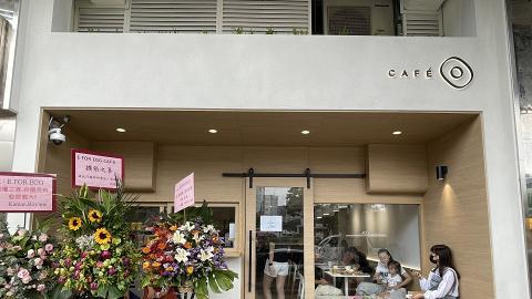【大圍美食】滑蛋盒子吐司店E FOR EGG搬鋪開Cafe 軟殼蟹珍珠堡/芫茜醬吉列大蝦定食/奶蓋咖啡