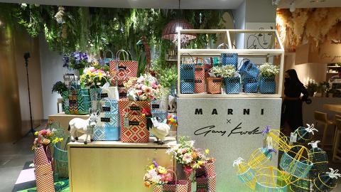 Marni x Gary Kwok 期間限定花藝 Café
