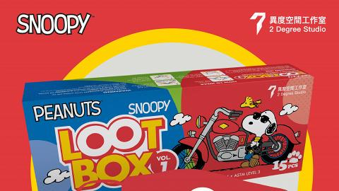 【香港口罩】Snoopy「盲盒」口罩首度登場 12款卡通圖案隨機發售