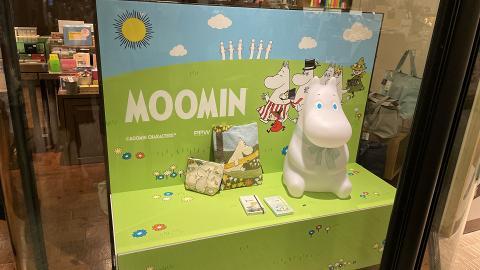 期間限定姆明特展登陸誠品! Moomin公仔/小夜燈/文具