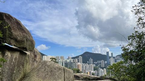 【港島行山好去處】紅香爐峰簡易行山路線教學 30分鐘登頂短程易行飽覽維港景色