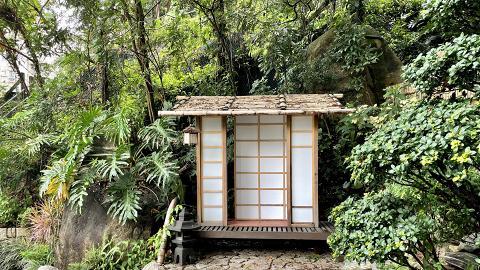 【天后好去處】港島區現身京都小庭院秘境影相打卡位 還原日式風格!竹棚小屋/石燈籠/小石橋
