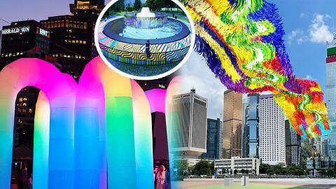 【香港周圍遊】全新維港海濱藝術走廊將登場!7大影相位/夜光拱門隧道/80米空中漂浮河流