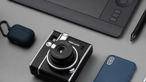 FUJIFILM全黑皮革即影即有相機新登場 自動曝光功能+自拍模式