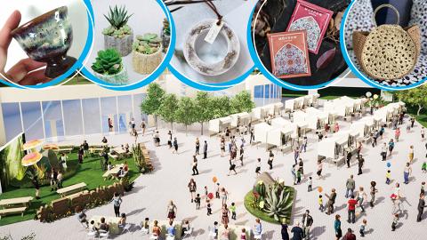 【周末市集】東薈城名店倉首個戶外市集!3大自然森林主題打卡位/近30檔本地品牌