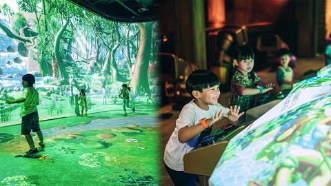 【海洋公園】全新互動體驗館「探索號R」6月暑假開幕!率先睇10大焦點/光影森林/小紅熊研究台
