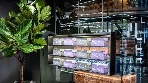 【香港口罩】MaskOn.口罩新店進駐沙田 全新顏色普羅旺斯紫/極簡灰