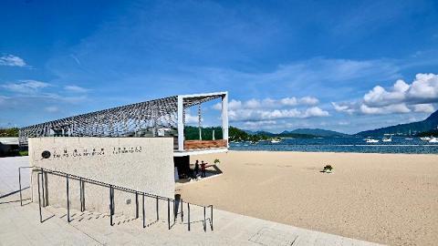 【大埔好去處】大埔龍尾泳灘正式開放!全新人工泳灘位置/設施/前往交通一覽