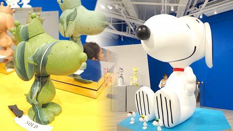 【暑假好去處】全新Snoopy展登陸銅鑼灣時代廣場!巨型史努比影相位/米奇雕塑/CASETiFY限定店